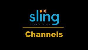slingtv channels list